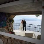 Fotografi matrimonio Napoli.Matrimonio da sogno a Capri.Capri Palace Tiberio.