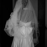 Fotografi matrimonio Napoli. Il velo da sposa. Sposa elegante. Sposa classica.