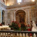 Fotografi matrimonio Napoli. Le chiese più belle e suggestive di Sorrento. Cerimonia nuziale a Sorrento.