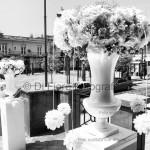 Fotografi matrimonio Napoli. Addobbi floreali in chiesa. Matrimonio di classe,matrimonio elegante