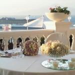 Fotografi matrimonio Napoli. Matrimonio a Sorrento. Ricevimento nuziale all'aperto. Matrimonio in terrazza.