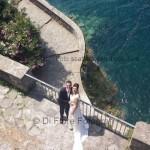 Fotografi matrimonio Napoli. Matrimonio a Sorrento. Percorso romano di Punta Campanella. Reportage di nozze