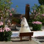 Fotografi matrimonio Napoli. Ingresso della sposa in chiesa. Emozione padre della sposa