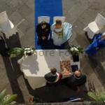 Fotografi matrimonio Napoli. Matrimoni in Campania. Il rito civile all'aperto.