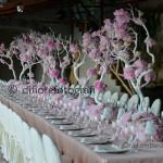 Fotografi matrimonio Napoli. Matrimonio tradizionale. Il tavolo imperiale al ricevimento nuziale.
