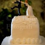 Fotografi matrimonio Napoli. Dettagli personalizzati matrimonio: divertenti topper cake