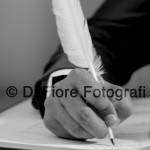 Fotografi matrimonio Napoli. Oggi sposi. Il giorno del sì. La firma degli sposi