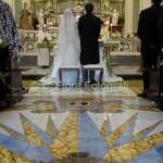 Matrimonio a Salerno. La chiesa di San Gennaro a Praiano. Rito nuziale. Matrimonio religioso.