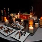 Fotografi matrimonio Napoli. Non solo confettata. Corner delle raffinatezze: sigari, rum e cioccolato