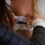 Tradizioni e usanze del matrimonio. La giarrettiera per la sposa.