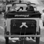 Matrimonio vintage. L'auto degli sposi dal sapore retrò