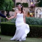 Matrimonio romantico a Ravello. Villa Cimbrone. Scatti spontanei degli sposi