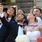 Nozze da sogno in Campania. Gli invitati a nozze. Gli amici degli sposi.