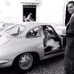 Matrimonio vintage. L'auto degli sposi. Auto d'epoca per gli sposi.