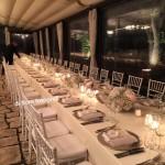 Matrimonio a Ravello. Tavolo imperiale a Villa Eva