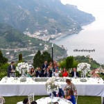 Matrimonio all'aperto in costiera. Belmond Hotel Caruso a Ravello.