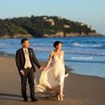Matrimoni in spiaggia nel Lazio. Aeneas' Landing. Nozze da sogno in riva al mare