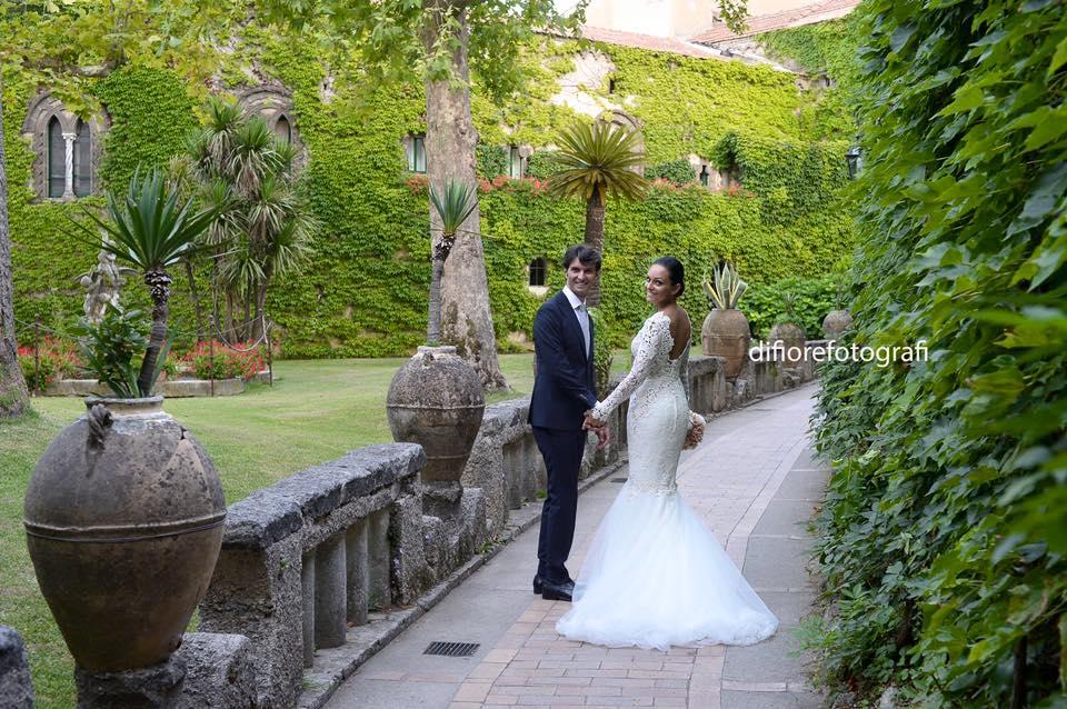 matrimonio a villa cimbrone