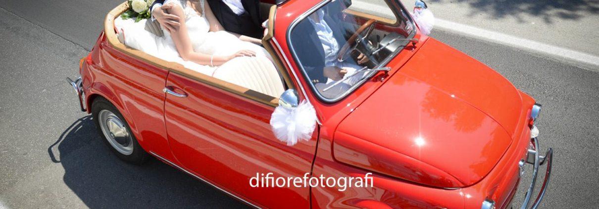 particolari auto sposi