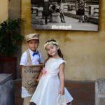 Matrimonio personalizzato. Paggetto e flower girl. Romanticismo e allegria alle nozze