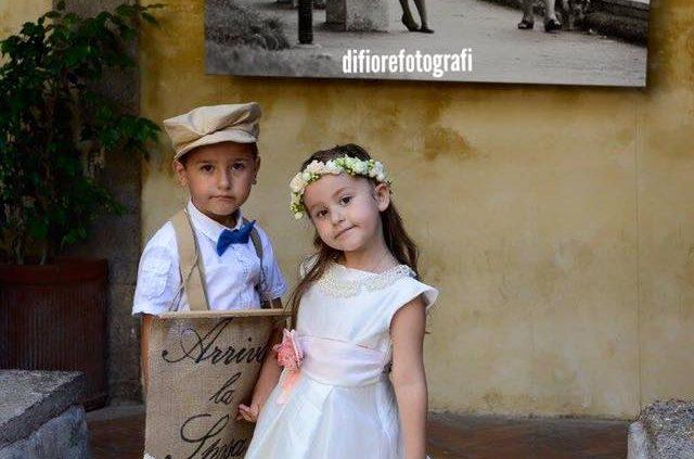paggetto e flower girl