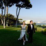 Matrimoni in costiera. Torre Annunziata Villa Tiberiade per le foto di nozze