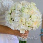 Bouquet romanico per la sposa. La scelta perfetta