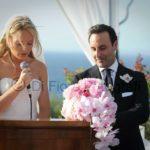 Matrimoni moderni. Matrimonio all'aperto con cerimonia all'americana a Villa Angelina