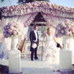 Matrimonio all'americana in Campania. Le promesse degli sposi