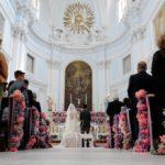 Matrimonio alla moda con i colori Pantone 2017 Pink Yarrow