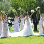 Preparativi per le nozze. Hai scelto il colore degli abiti per le damigelle d'onore?