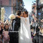 Semplicemente amore per il matrimonio di Teresa e Giuseppe a Villa Guarracino che porta la firma di Cira Lombardo