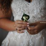 Moda sposa 2019. L'abito da sposa con inserti in pizzo