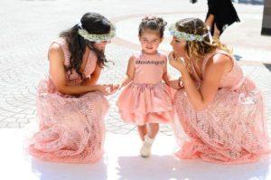 bridesmaids damigelle flower girl