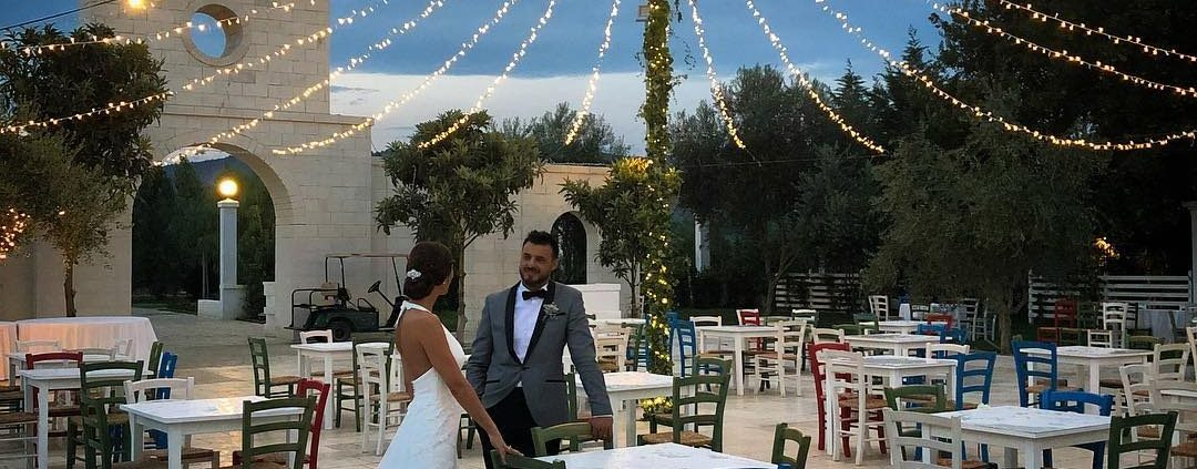 illuminazione al matrimonio