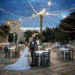 Le luci che creano l'atmosfera al matrimonio. Tendenze wedding 2021