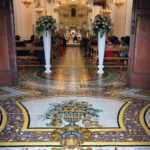 Le suggestive maioliche nella Antica Cattedrale di Massa Lubrense Santa Maria delle Grazie