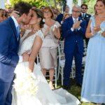 La favola d'amore di Luigi e Simona. Matrimonio da sogno in Costiera
