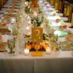 Tendenze wedding 2020-2021. Il tavolo imperiale